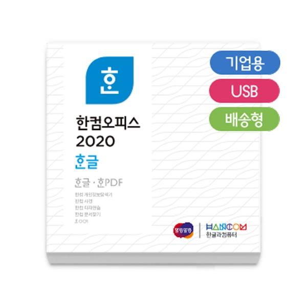 한컴오피스 2020 한글 [기업용/처음사용자용/패키지/USB방식]