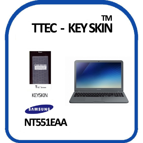 노트북키스킨, 15.6형 삼성 노트북5 NT551EAA [투명]