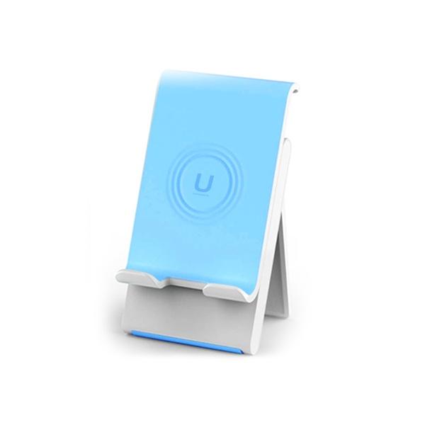 슬라이드 스마트폰 휴대용 탁상용 거치대 블루