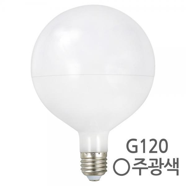 LED 볼램프 볼전구 레일 인테리어등 G120 [8W/주광색(하얀빛)]