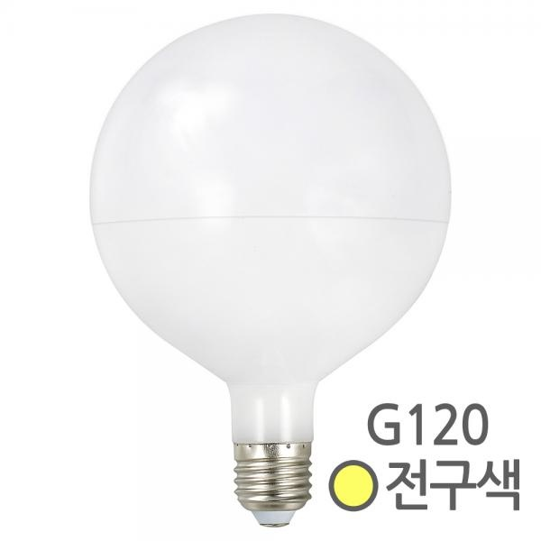 LED 볼램프 볼전구 레일 인테리어등 G120 [10W/전구색(노란빛)]