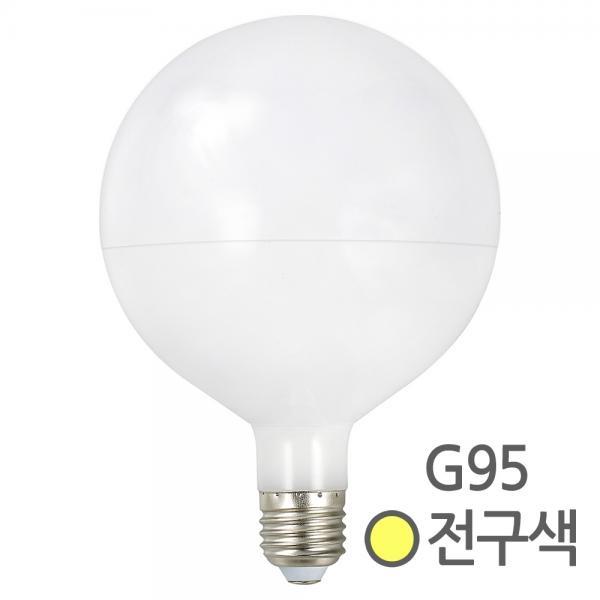 LED 볼램프 볼전구 레일 인테리어등 G95 [10W/전구색(노란빛)]
