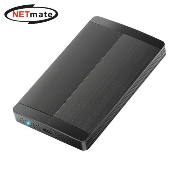2.5인치 외장케이스, NETmate NM-HDN03 [USB3.1 Type-C] [하드미포함]