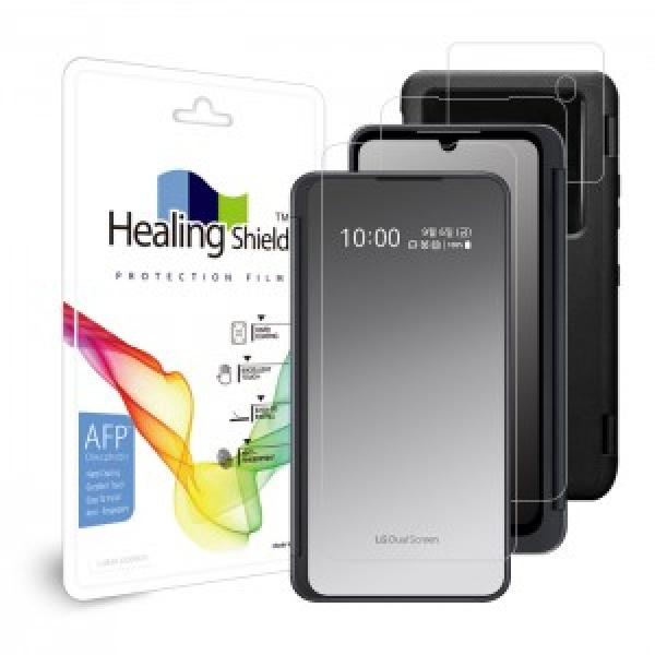 LG V50S ThinQ 듀얼 스크린 용 올레포빅 케이스 보호필름 3종