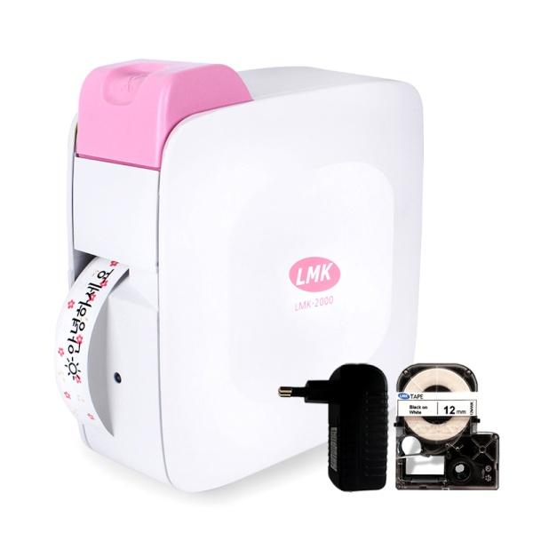 LMK-2000PK 라벨프린터 [핑크]