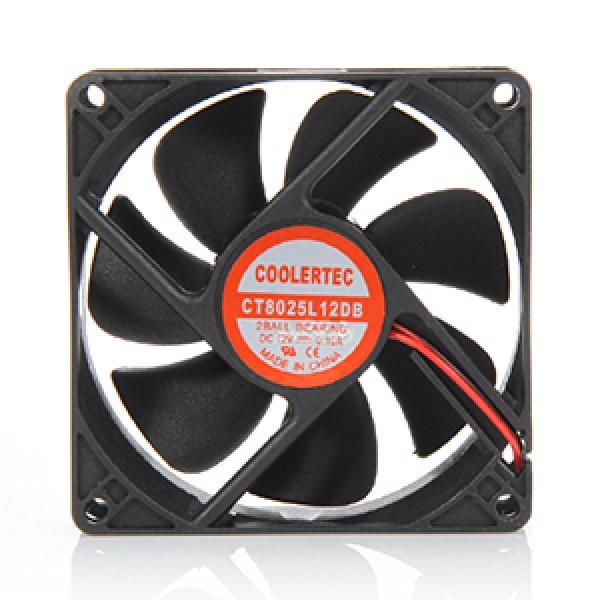 쿨러텍 CT8025L12DB-4P 저소음 유체베어링 [시스템쿨러/80mm]