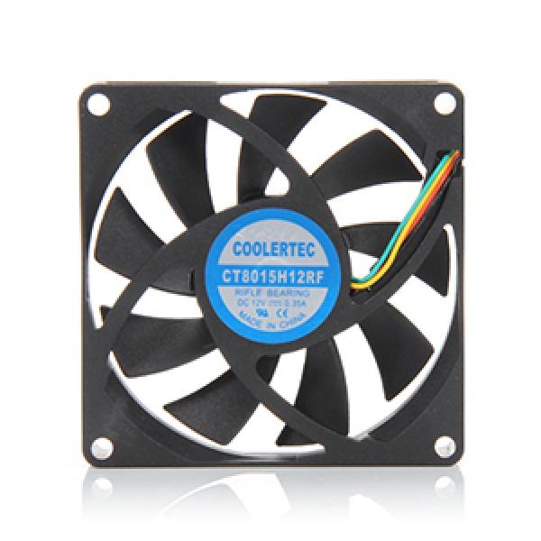 쿨러텍 CT8015H12RF-4P 저소음 유체베어링 [시스템쿨러/80mm]