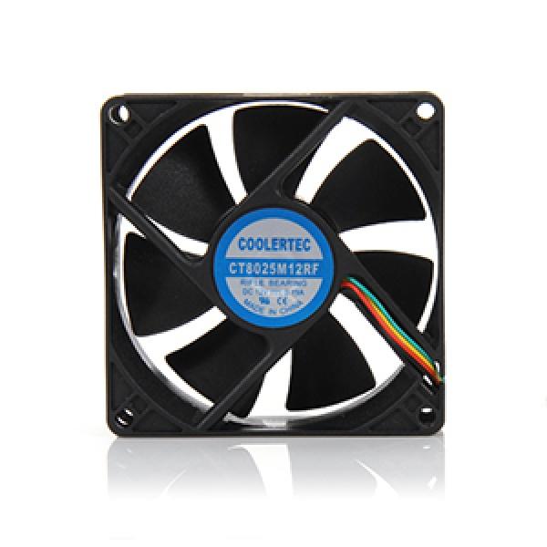 쿨러텍 CT8025M12RF-4P 저소음 유체베어링 [시스템쿨러/80mm]