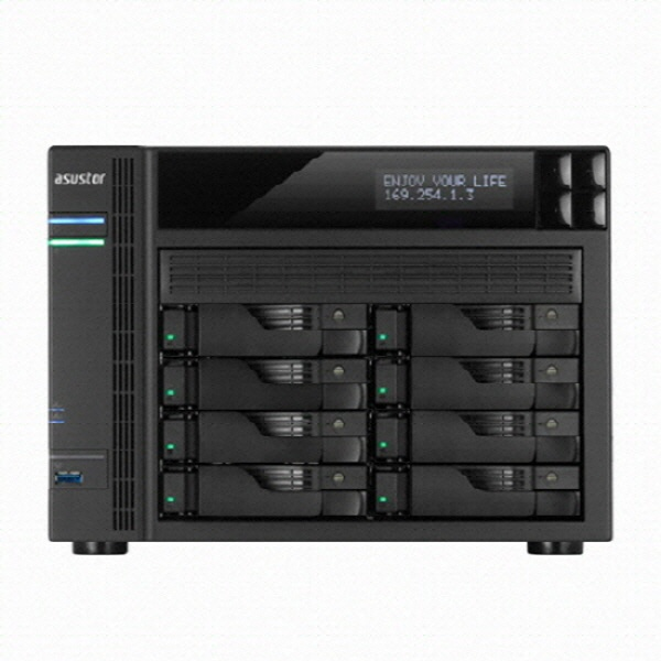 타워형 NAS패키지, 아수스토어 AS6508T (8베이) SEAGATE IRONWOLF PRO [SEAGATE IRONWOLF PRO HDD 128TB(16TB*8)]