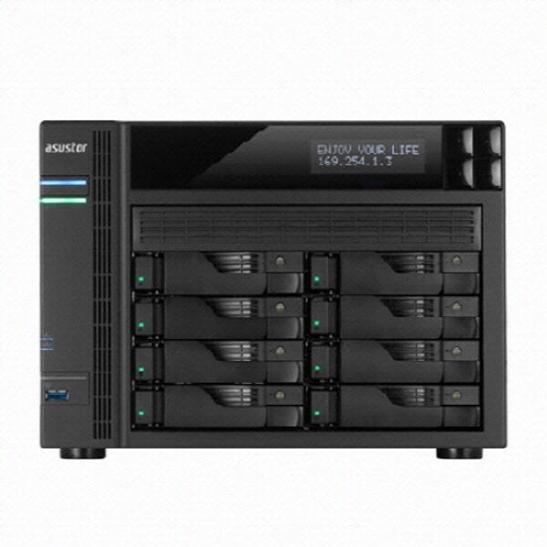 타워형 NAS패키지, 아수스토어 AS6508T (8베이) SEAGATE IRONWOLF PRO [SEAGATE IRONWOLF PRO HDD 64TB(8TB*8)]