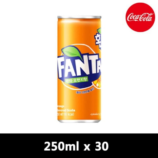 환타 오렌지 [CAN] 250ml x 30개입