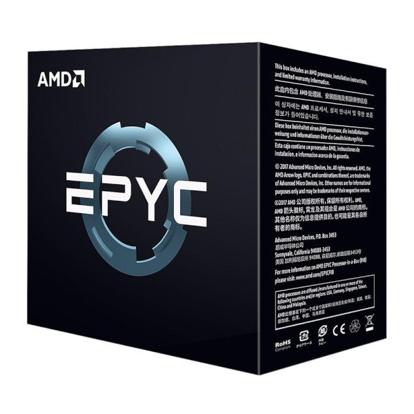 EPYC™ (Twenty-four Core) Model 7352(24코어 /2.3GHz/대리점정품)