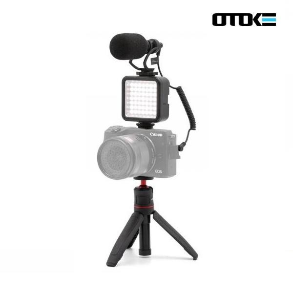 오토케 카메라용 유튜브 브이로그 촬영 장비 패키지 세트