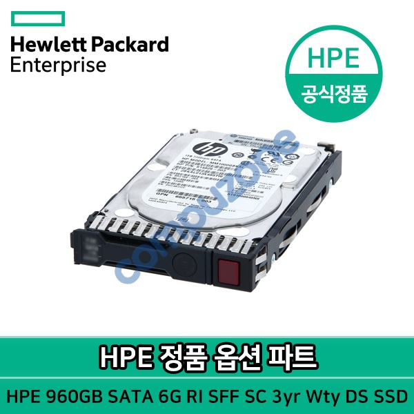 HPE 960GB SATA 6G Read Intensive SFF (2.5in) SC 3yr Wty Digitally Signed Firmware SSD [P04564-B21]