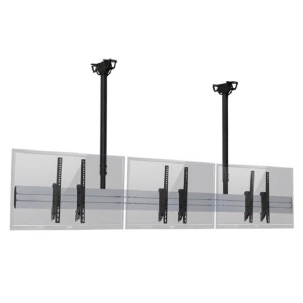 천정형 트리플 거치대, MB-3 [40~55형]