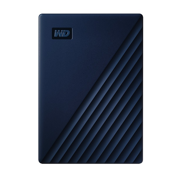 Mac전용 외장하드, NEW MY PASSPORT for Mac [USB3.2/파우치증정] [인쇄/견적문의] 4TB [네이비/4TB]