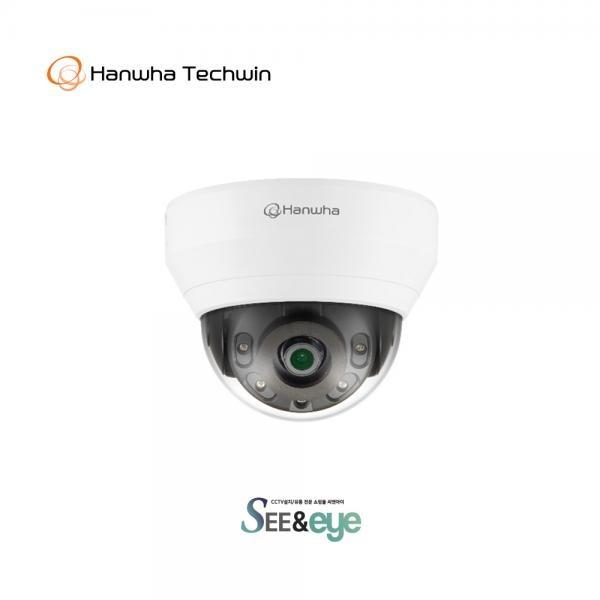 한화테크윈 IP 돔카메라 QND-6012R [고정렌즈-2.8mm/200만 화소]