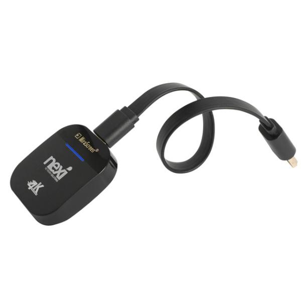 넥시 스마트폰 4K 무선 MHL 동글 [NX912] [NX-912-4K] [블랙]