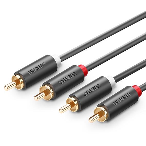 유그린 RCA 2선 꺾임 케이블 2M [U-10518]