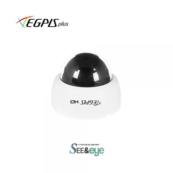 AHD 전용 돔카메라 EGPIS-EQD4600(D) [고정렌즈-3.6mm/400만 화소]