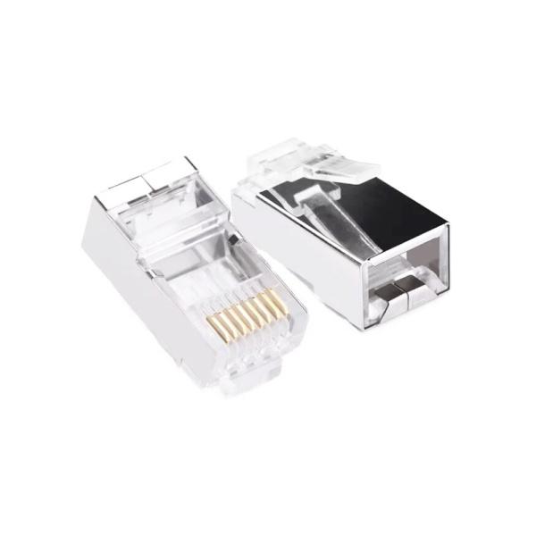대원티엠티 RJ-45 커넥터, CAT.5E STP [투명/100개] [DW-RJC5T]