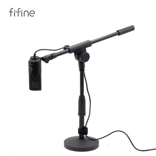 FIFINE K669B 테이블 붐암 스탠드 세트