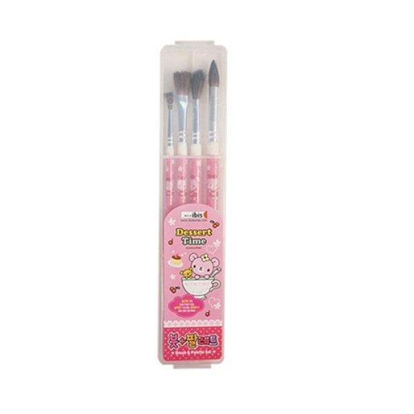 5000 붓+팔레트세트(CR) [제품 선택] 핑크
