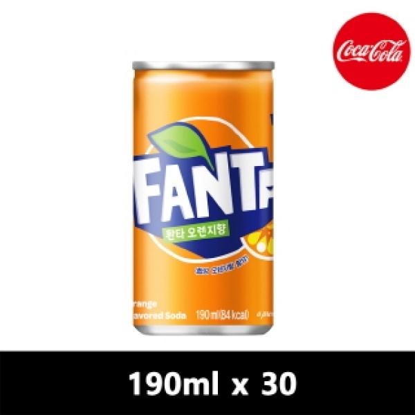환타 오렌지 [CAN] 190ml x 30개입