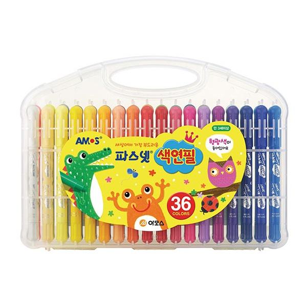 36색 파스넷 색연필 24000