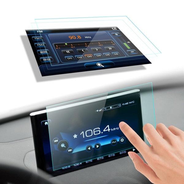 현대자동차 순정내비게이션 강화유리 보호필름 7인치 보호필름 [옵션선택]