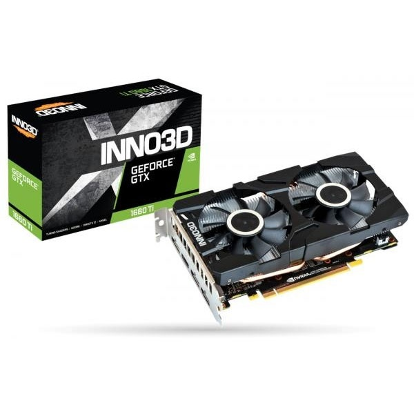 GeForce GTX 1660 Ti D6 6GB 백플레이트