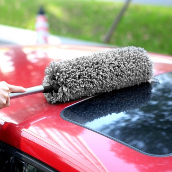 클린카 차량용 길이조절 먼지털이개(그레이) GTS34204 [먼지털이/다용도/1개입]