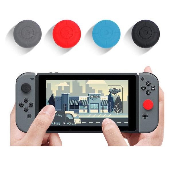 닌텐도 스위치 조이콘 아날로그 스틱커버 High 2(P) 색상선택 블랙