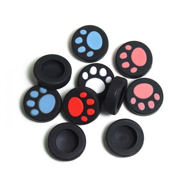 닌텐도 스위치 조이콘 아날로그 발바닥커버 2(P) 색상선택 레드