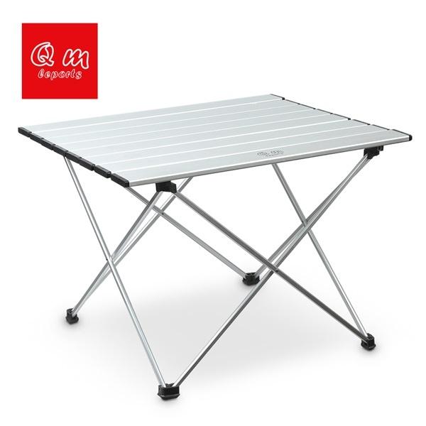 Qm롤앤하드알루미늄접이식캠핑테이블