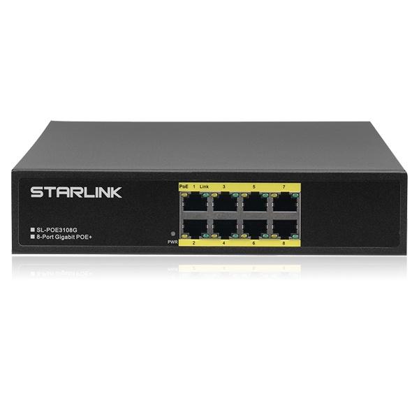 STARLINK SL-POE3108G [스위칭허브/8포트/PoE]