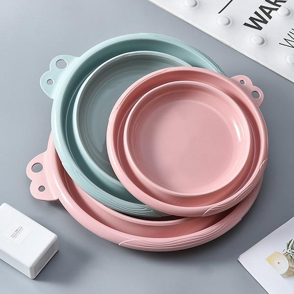 다용도 접이식 매직대야 (RC-SC0043) [소형] [소형/핑크]