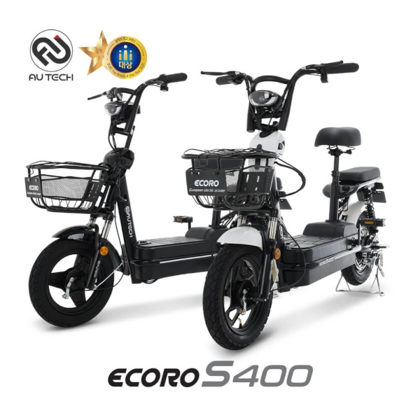 AU테크 에코로 S400 48V 12Ah 14인치 전동스쿠터