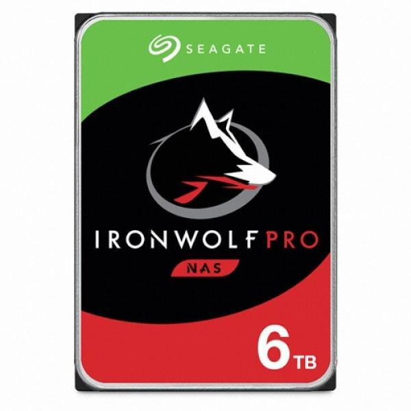 IRONWOLF PRO HDD 6TB ST6000NE000 (3.5HDD/ SATA3/ 7200rpm/ 256MB/ PMR)