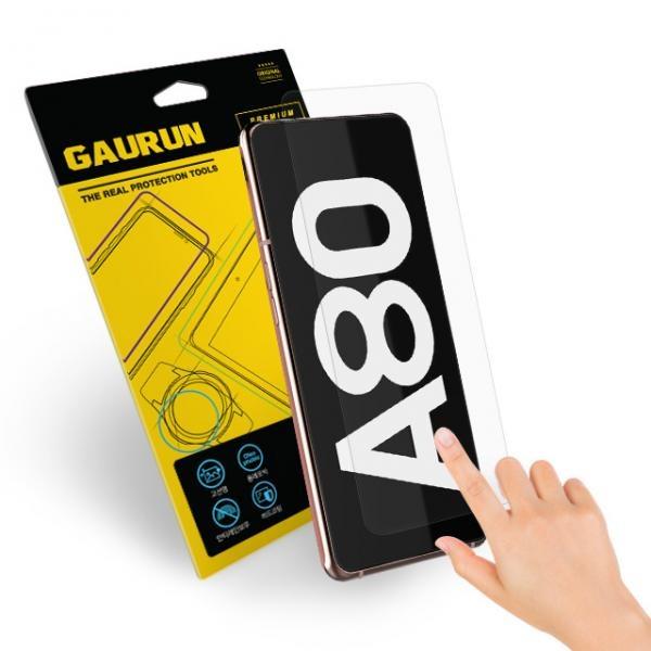 갤럭시 A80 고선명 올레포빅 액정보호필름 전면2매