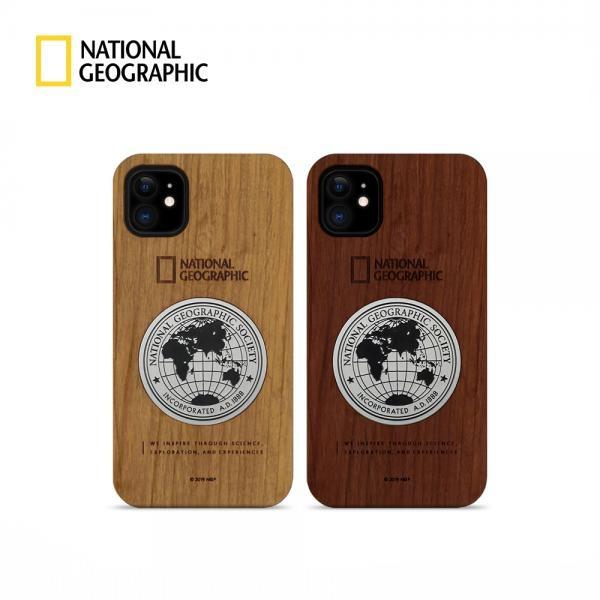 내셔널지오그래픽 메탈 데코 우드 케이스 [제품 선택] 아이폰11