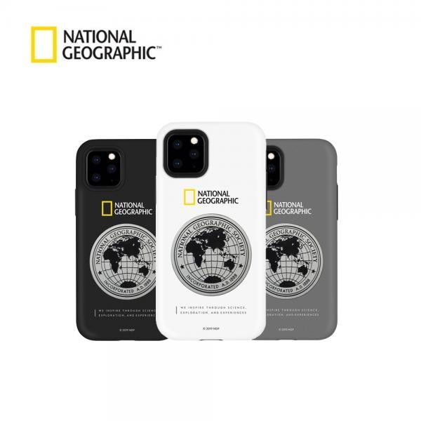 내셔널지오그래픽 메탈 데코 하드쉘 케이스 [제품 선택] 아이폰11 프로 맥스