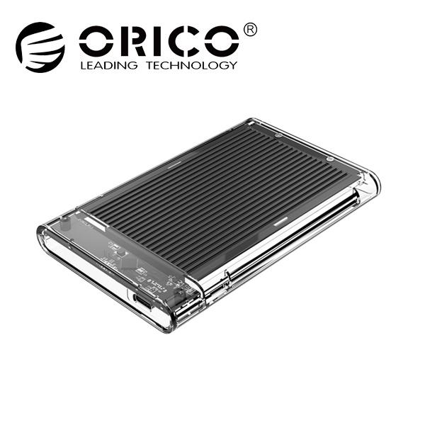 오리코 2179C3 투명+알루미늄방열판 [2.5 외장케이스/Type-C] [블랙]