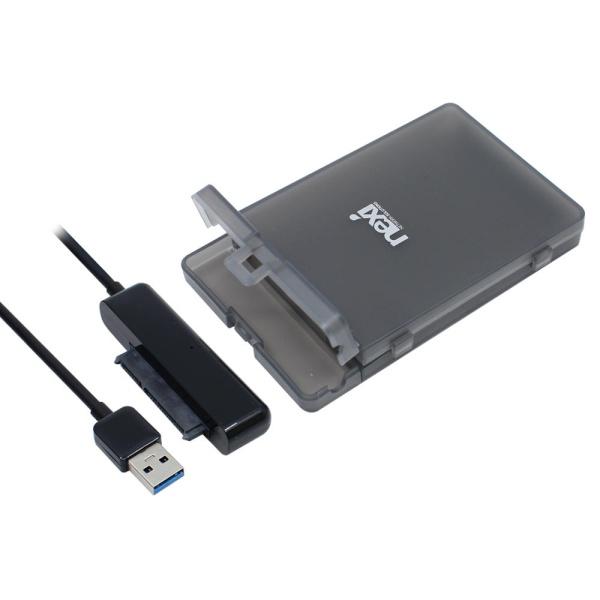 넥시 NX-218U30B [2.5 외장케이스/USB3.0] [NX774-1] 하드미포함 [하드미포함/블랙]