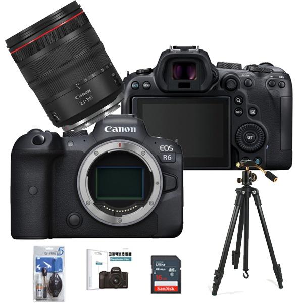 EOS RP BODY + RF 24-105mm F4L IS USM + SD256G메모리 + 호루스벤누 볼헤드삼각대 + 고광택보호필름