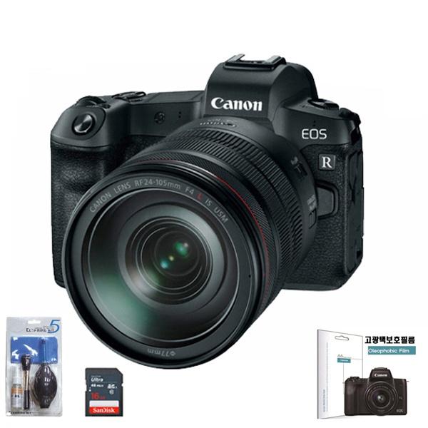 EOS R BODY +  RF 24-105mm F4L IS USM + SD128G메모리