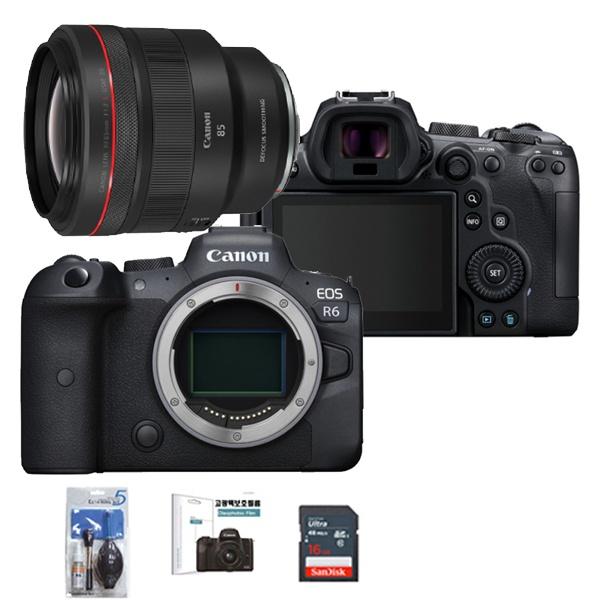 EOS RP BODY + RF85mm F1.2 L USM DS + 128G메모리 + 고광택보호필름 + DSLR정품가방