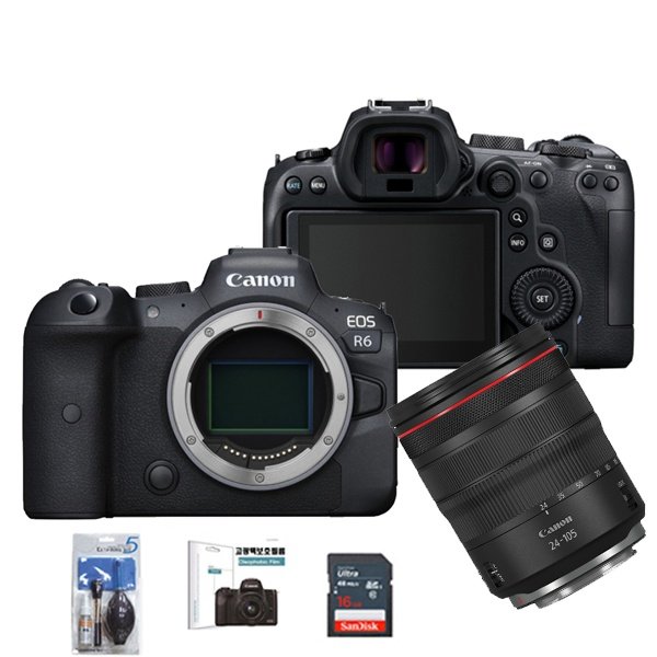 EOS RP BODY + RF 24-105mm F4L IS USM + SD128G메모리 + 고광택보호커버
