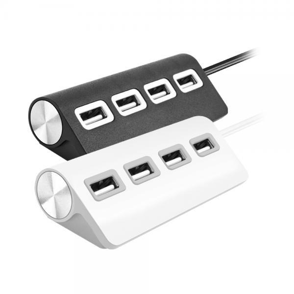 바하 UH2014 (USB2.0허브/4포트/무전원) [화이트]