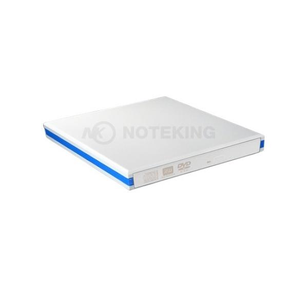 ODD 외장케이스, 노트킹 12mm 슬림 ECD008, USB3.0 SATA Type [화이트/베젤별매]